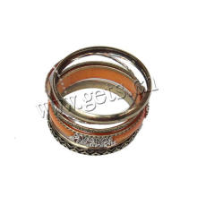 Gets.com iron hinged bangle resin bracelet