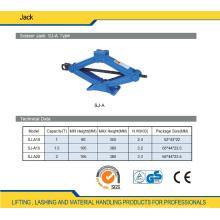 Mini Scissor Lift Jack 1 Ton to 2 Ton