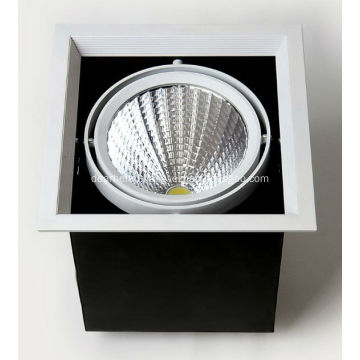 8w LED bean container light indoor led light AC90-260V 500-600lm RA 80 hole 125*125mm