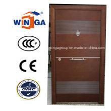 Moyen-Orient Porte blindée en bois Steela haute qualité Winga (W-T32)