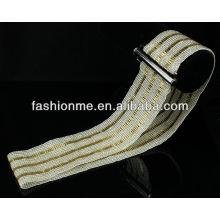 Fashionme correa de amistad de cordón elástico hecha a mano