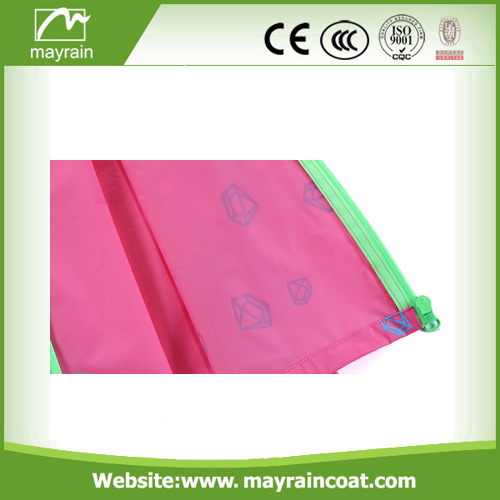 Waterproof Pink PVC Rainsuit