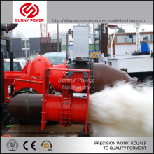 Diesel-Schlammpumpe für Bergbau mit max. Starren Granulaten 76mm