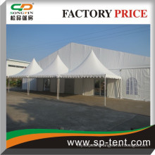 Cheap PVC frame combination style structure party event tent with Guangzhou supplier