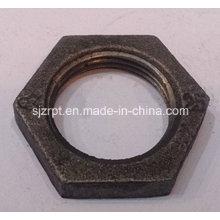 "Malleable Iron Pipe Fittings 1"" Black Locknut"
