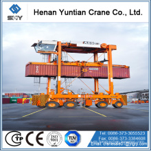 Transportador de Straddle del envase de la estructura de acero estándar de CE / ISO 50Ton