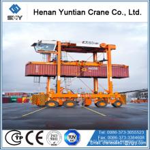 Се/ИСО Стандарт стальной структуры 50Ton контейнер наезжать перевозчика