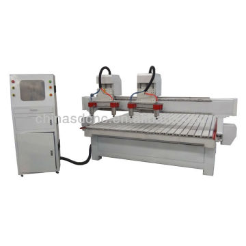 China cnc wood carving machine with servo motors for hd designs outdoor furniture