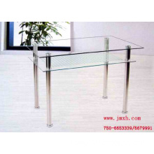 Stainless steel double coffee table stainless steel furniture