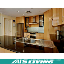 Classic Veneer Particleboard Kitchen Cabinet Furniture (AIS-K185)