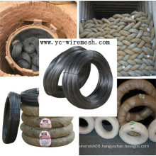 0.13mm-3.8mm Soft Black Annealed Wire for binding/Binding wire