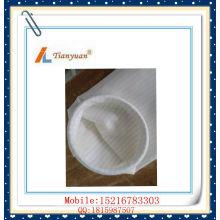 Venta caliente antiestática aguja de poliéster de fieltro PP filtro bolsa de filtro