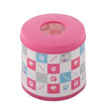 Caixas redondas de tecido de moda bicolor (FF-5011-2)