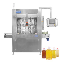China plant automatic PET bottle olive edible oil filling machine for cooking oil