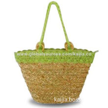 Wheat Straw Bag with TC Lining, Made of Paper