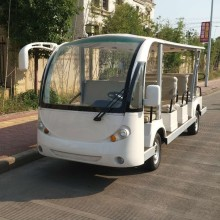 OEM China High quality for 14 Seat Electric Shuttle Bus 14 passager electric resort car /sightseeing bus export to Spain Manufacturers
