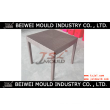 Plastic Injection Rattan Table Mould