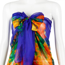 Venta al por mayor traje de baño bufanda sexy playa chica sarong