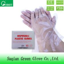 Lebensmittelverarbeitung Kunststoff PE Handschuh