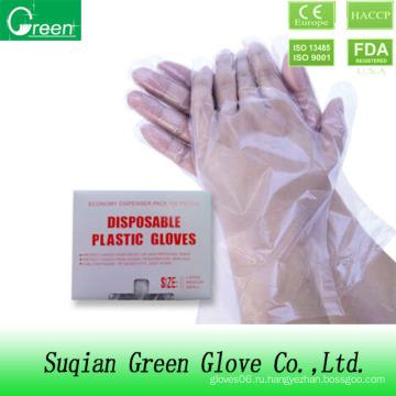 Пищевая промышленность Пластиковые перчатки PE