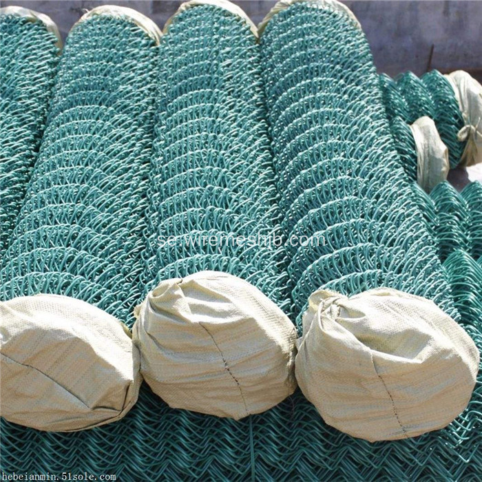 Hot Dipped Galvaniserad Basket Court Chain Chain Fence