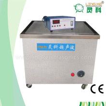 Limpiador ultrasónico con sistema de filtración para la limpieza de la tinta de la impresora