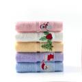beautiful kid's christmas embroidery towel