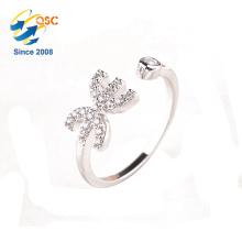Anpassbare 925 Silber zwölf Konstellationen Glück Inlay Fische Ring für Mädchen