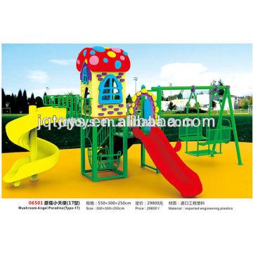 Mushroom Angel Paradise Playground Slide