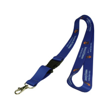 Blue Customized Lanyard with string Holder