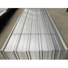 Feuille de toiture en acier ondulée galvanisée galvanisée