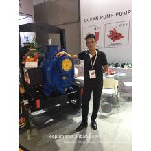 Pompe à eau diesel d'auto-amorçage de théorie d'irrigation avec la remorque