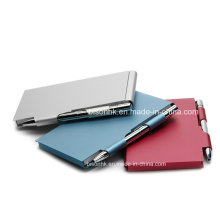 Custom Metal Memo Pad Holder, Promotional Gifts Note Pad Holder