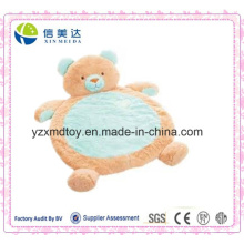 Certificado Aprovado Animal Plush Baby Bear jogar tapete