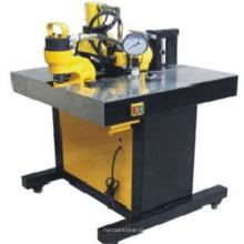 Máquina de dobra de perfuração hidráulica do corte do barramento de cobre