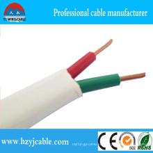 99,9% Чистый медный конденсатор Многожильный плоский кабель 2-жильный
