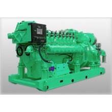 Газовый генератор работает на СПГ, СПГ, СНГ, биогазе