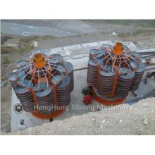 Rampa Espiral / Separador de Processamento de Lavagem Mineral