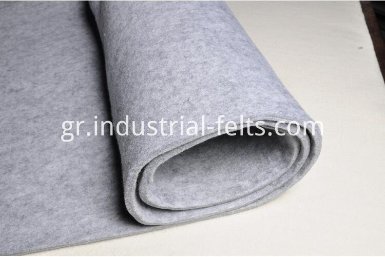 Viscose felts