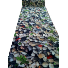 Digital Printed Polyester Mats Rolls with PVC Backing
