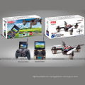 Best Remote Control of sale JJRC F180C 2.4GHZ Six axis GYRO 5.8G real-time image transmission four rotor aircraft SJY-JJRC-F180C