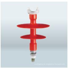 Isolador do borne do Pin da borracha 12.5kn 52kv do silicone