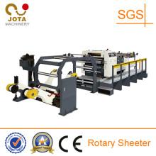 Machine de feuilles de papier rotative à rendement élevé