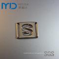 S alfabeto ornamentos de plástico con clips para las mujeres zapatos de moda