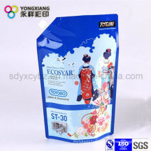 Stand up Detergent Plastic Packaging Bag with Spout