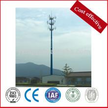 33kv 69kv GSM torre de aço de comunicação