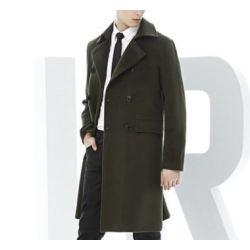 Men's 70% Wool 30% Cashmere Coat