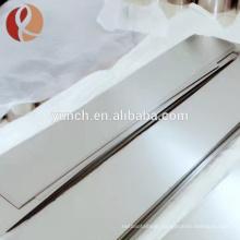 Good Price 0.1mm Thin Tungsten Sheet No Powder