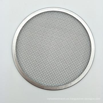 Disco de malla de filtro de malla de alambre de acero inoxidable 20 10 5 3 1 micrón