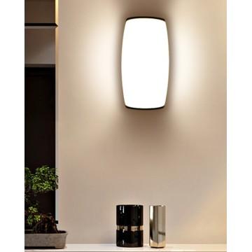 Plastic style waterproof lighting led wall lamp